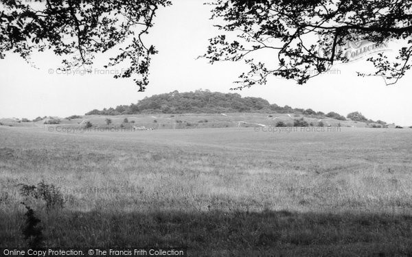 Photo of Badbury Rings, c.1960