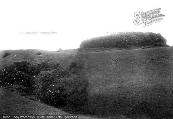 Photo of Badbury Rings, Hill Fort 1899