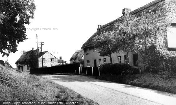 Photo of Badbury, The Village c.1960