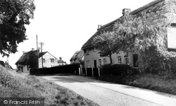 Badbury, The Village c.1960