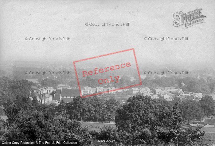 Photo of Baden Baden, From Conversationshams 1894