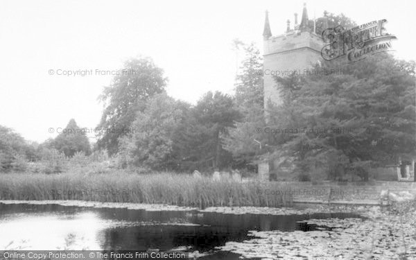 Photo of Badger, Church And Pond c.1965