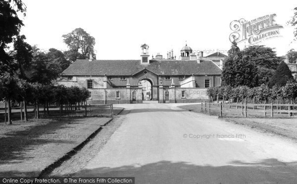 Photo of Badminton, House, The Clock Tower c.1960