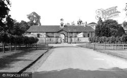 House, The Clock Tower c.1960, Badminton