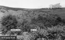 Bagborough, Middle Hill c.1955
