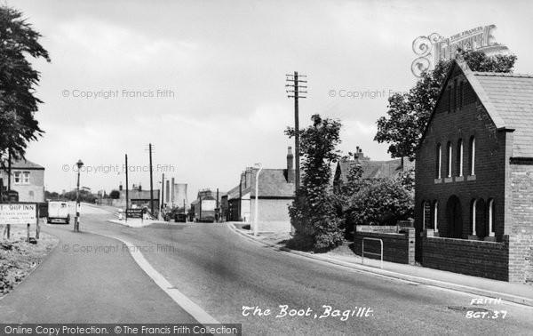 Photo of Bagillt, Boot & Ship Inn c.1955