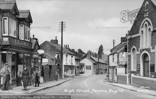 Photo of Bagillt, High Street c.1955