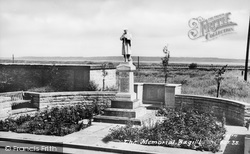 Bagillt, The Memorial c.1955