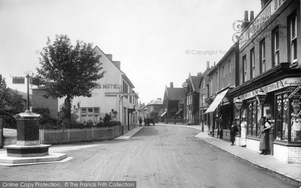 Photo of Bagshot, 1909