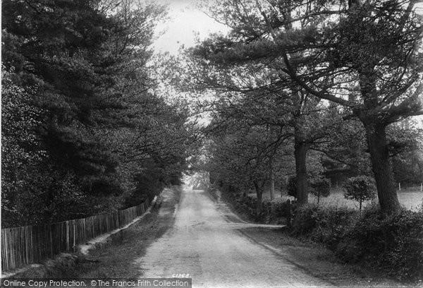 Photo of Bagshot, Back Ride 1909