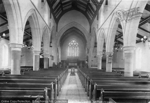 Photo of Bagshot, Church Interior 1903