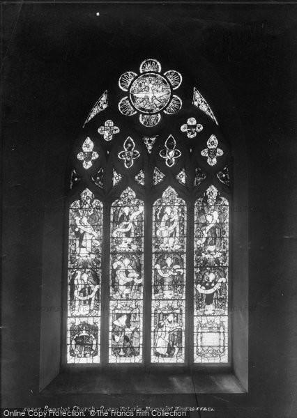 Bagshot, Church, Queen Victoria Memorial Window 1903