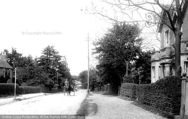 Photo of Bagshot, Duchess Of Connaught Memorial Nursing Home 1903