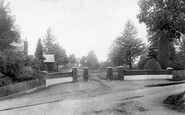 Bagshot, Entrance To Duke Of Connaught Park 1906