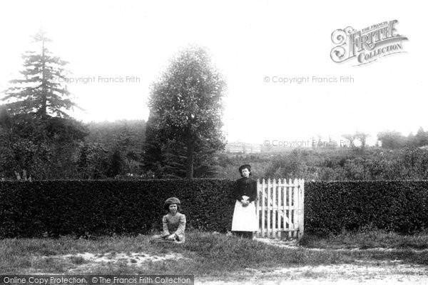 Photo of Bagshot, High Curly Hill 1903