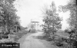Bagshot, High Curly, Water Tower 1925