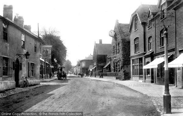 Photo of Bagshot, High Street 1901