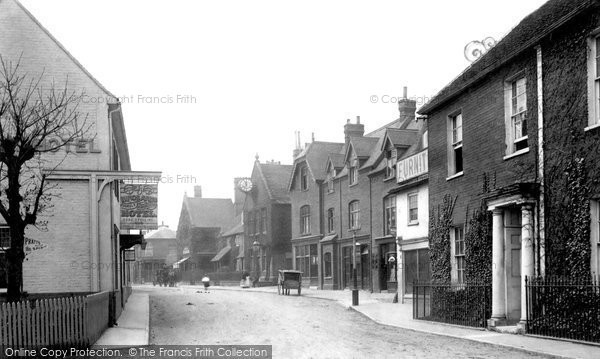 Photo of Bagshot, High Street 1903