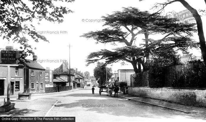 Photo of Bagshot, High Street 1903