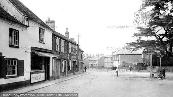 Bagshot, High Street 1906