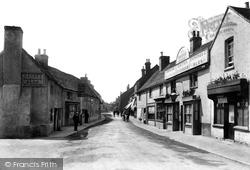 Bagshot, High Street 1909