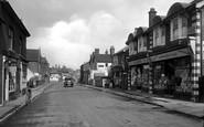 Bagshot, High Street 1921