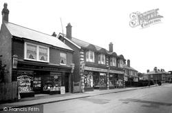 Bagshot, High Street 1925
