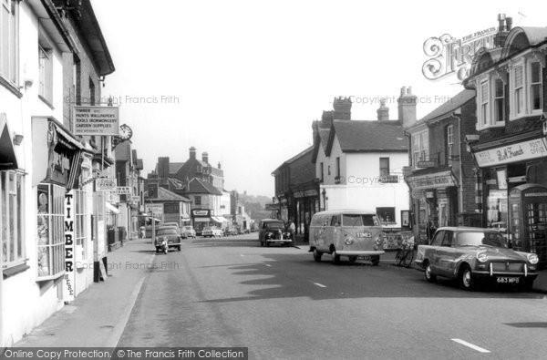 Photo of Bagshot, High Street 1961