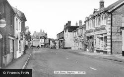 Bagshot, High Street c.1955