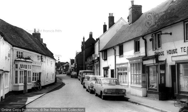 Photo of Bagshot, High Street c.1961