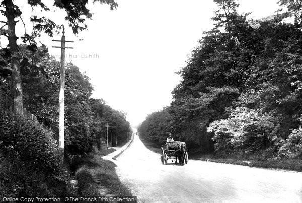 Photo of Bagshot, Jolly Farmer Hill 1906
