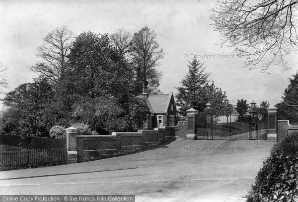 Photo of Bagshot, Park Lodge 1909