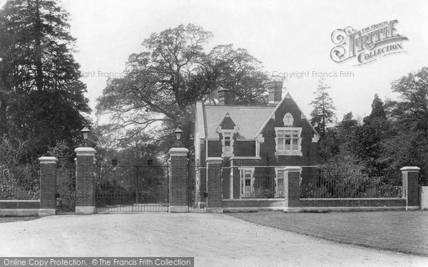 Photo of Bagshot, Park Lodge 1909