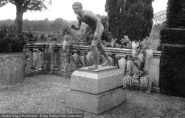 Bagshot, Park, Running Boy Statue 1927