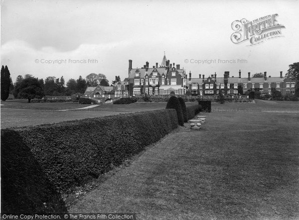 Photo of Bagshot, Park South 1927