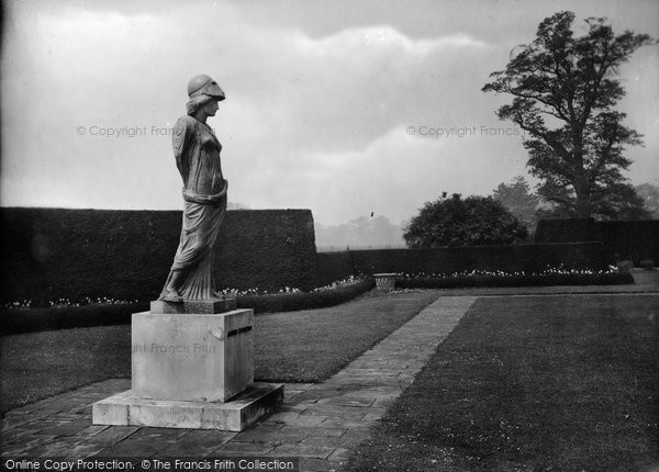 Photo of Bagshot, Park, Statue 1927