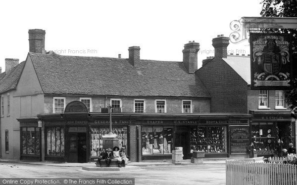 Photo of Bagshot, Shops In The Square 1906