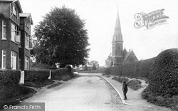 Bagshot, St Anne's Church 1906