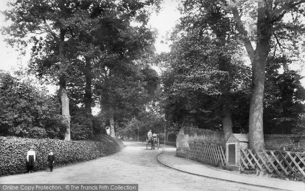 Photo of Bagshot, Station Road 1906