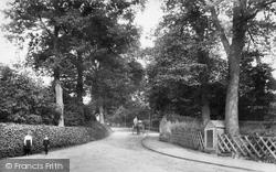 Bagshot, Station Road 1906