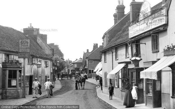 Photo of Bagshot, The Bridge House, High Street 1901