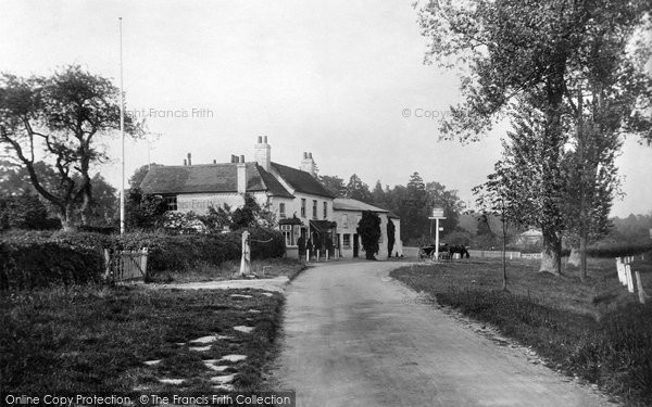 Photo of Bagshot, The Cricketers 1906