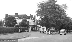 Bagshot, The Cricketers c.1955