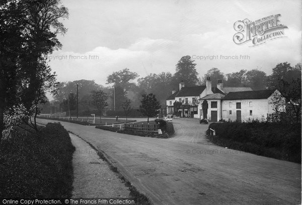 Photo of Bagshot, The Cricketers Inn 1923