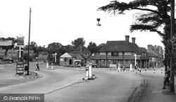 Bagshot, The Fighting Cocks Pub c.1955
