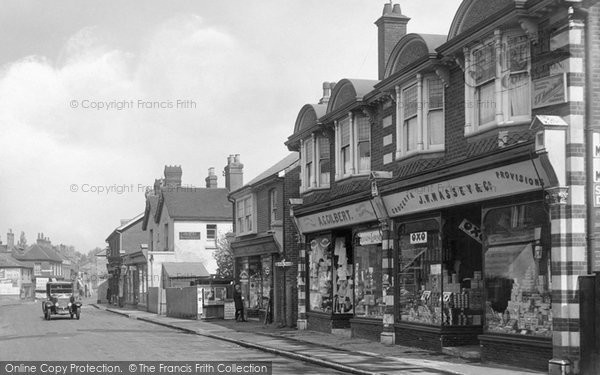 Photo of Bagshot, The Grocery Store 1921