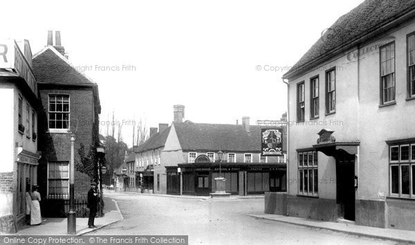 Photo of Bagshot, The Square 1903