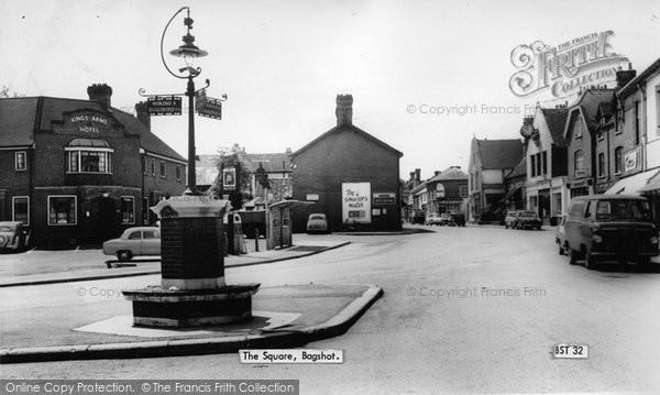 Photo of Bagshot, The Square c.1960