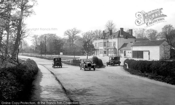 Photo of Bagshot, The Village 1926
