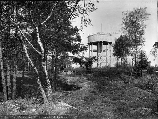 Bagshot, The Water Tower 1925